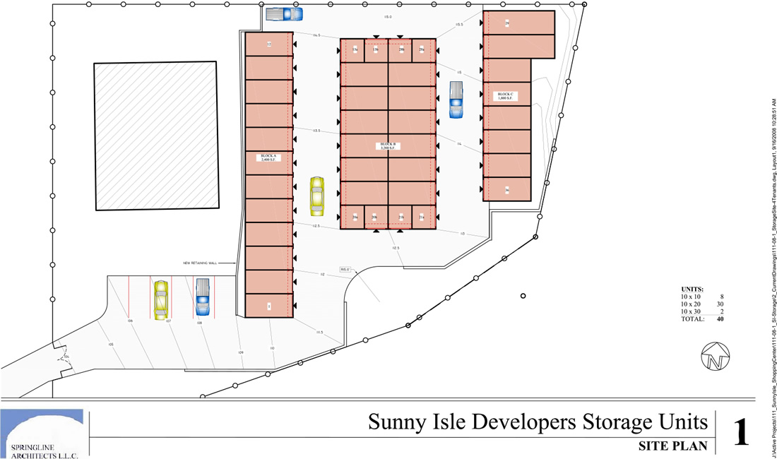 self storage site map