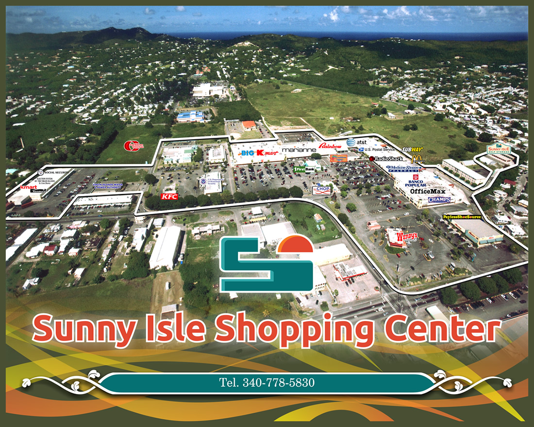 shopping center store location guide